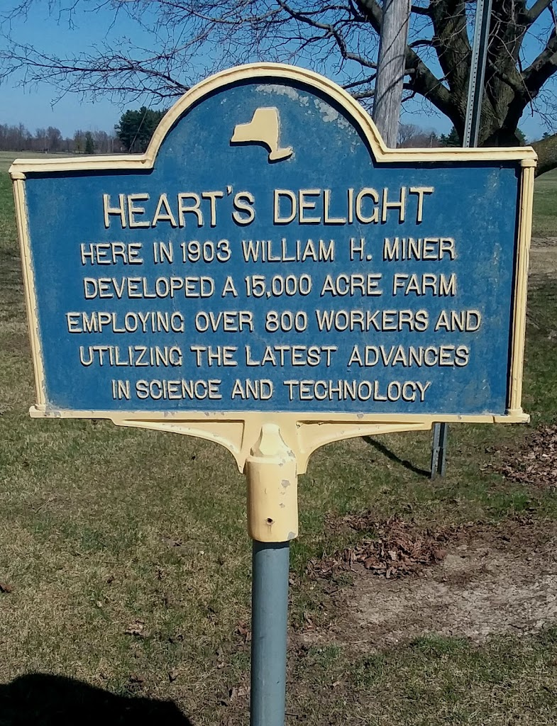 Heart's Delight Here in 1903 William H. Miner developed a 15,000 acre farm employing over 800 workers and utilizing the latest advances in science and technology. Photo/submitted by Alan R Reno