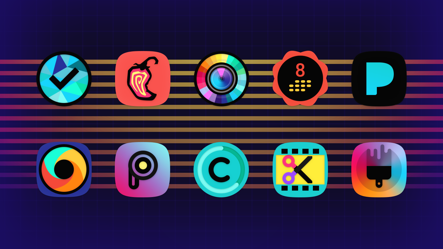 Atomic Icon Pack Screenshot 11