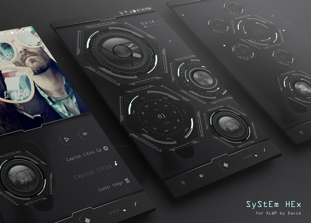 SyStEm HEx for KLWP Screenshot 1