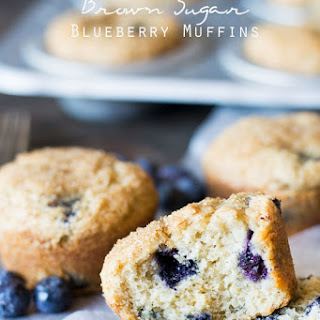 Blueberry Muffins Brown Sugar Recipes