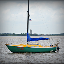 sail by Fareon Hickman - Transportation Boats (  )