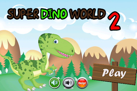 Super Dino World 2 - screenshot