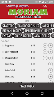 Moriam Takeaway Essex - screenshot