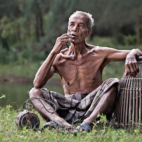 by Francis Coppola - People Portraits of Men ( senior citizen )