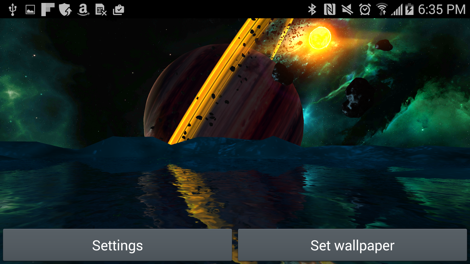 Far Galaxy 3D Live Wallpaper Screenshot 7