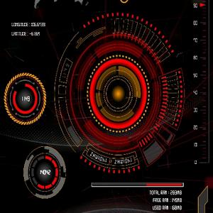 Futura HUD X1201 klwp theme For PC / Windows 7/8/10 / Mac – Free Download