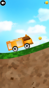 fire truck climbing game - screenshot