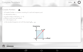 Screenshot of Learn Pre-Calculus