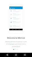 Screenshot of Mention
