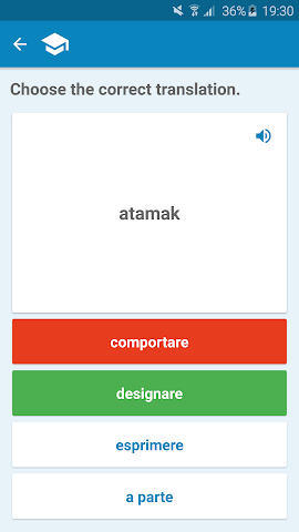 android Italian-Turkish Dictionary Screenshot 4