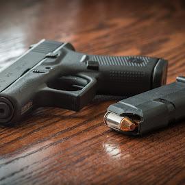 Glocked by Givanni Mikel - Artistic Objects Industrial Objects ( firearm, 42, pistol, glock, ammo )