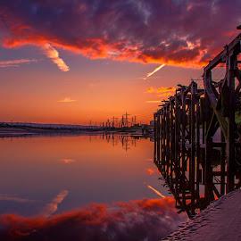 River Dee by Łukasz Rogalski - Landscapes Sunsets & Sunrises