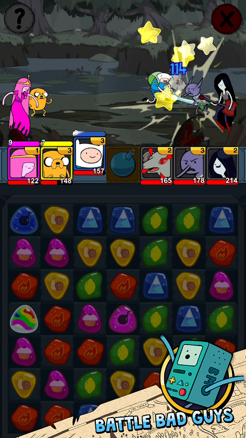 Adventure Time Puzzle Quest Screenshot 11