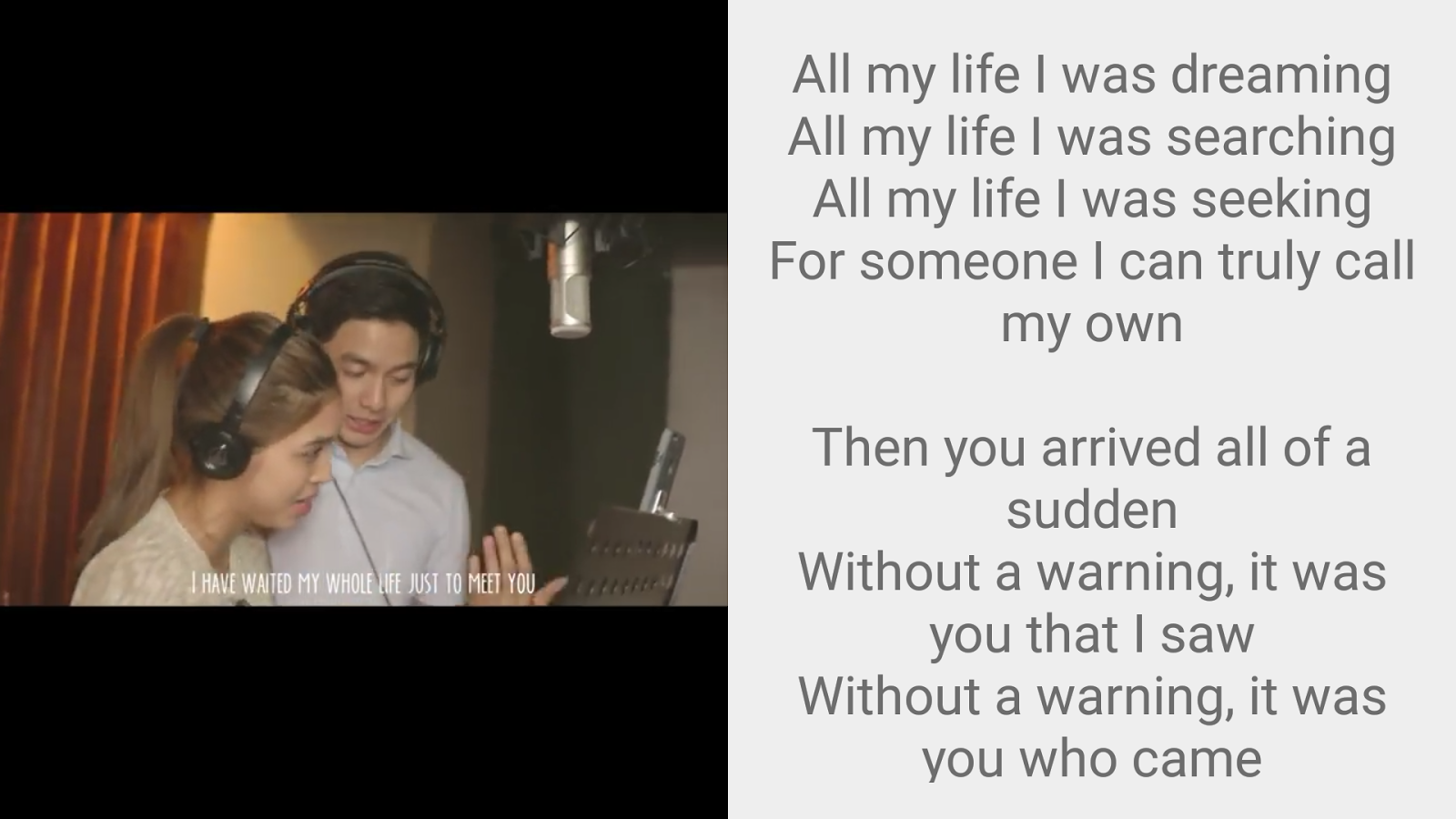 Imagine You & Me Lyrics Pro Screenshot 7