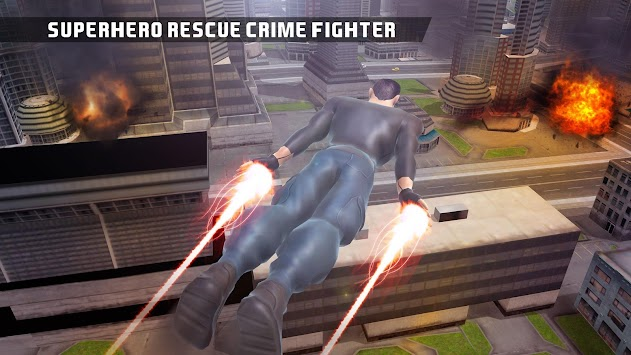 Superhero Crime Fighter Rescue apk screenshot