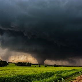 Bennington Beast by Aaron Rigsby - Landscapes Weather ( bennington, kansas, ef4 tornado )