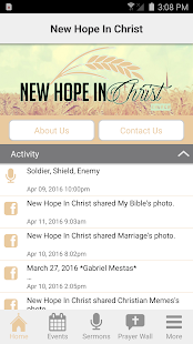 New Hope In Christ - screenshot