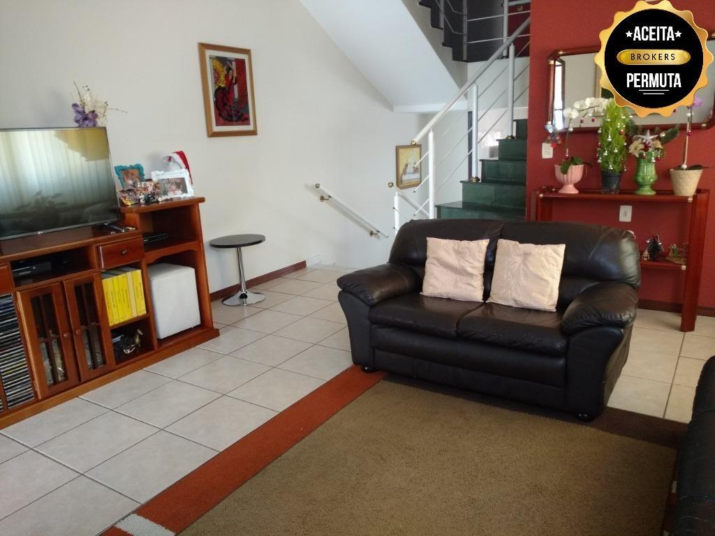 Sobrado residencial à venda com casa terreá nos fundos. Bairro Osvaldo Cruz, São Caetano do Sul - CA0188.