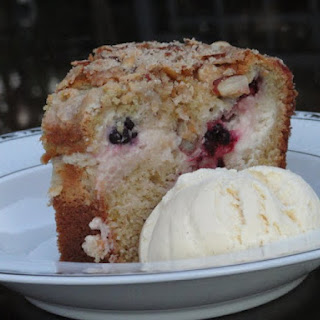 Blackberry Cream Cheese Coffee Cake