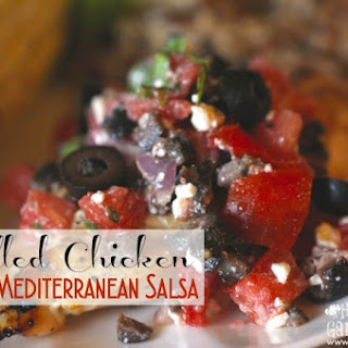 Grilled Chicken With Mediterranean Salsa