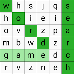 Word Search Game (sample app)