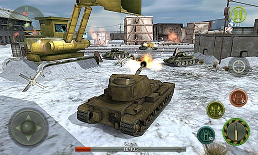 Tank Strike 3D - War Machines Screenshot