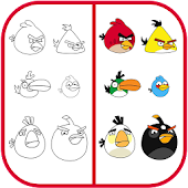 APK App How To Draw Angry Birds for BB, BlackBerry