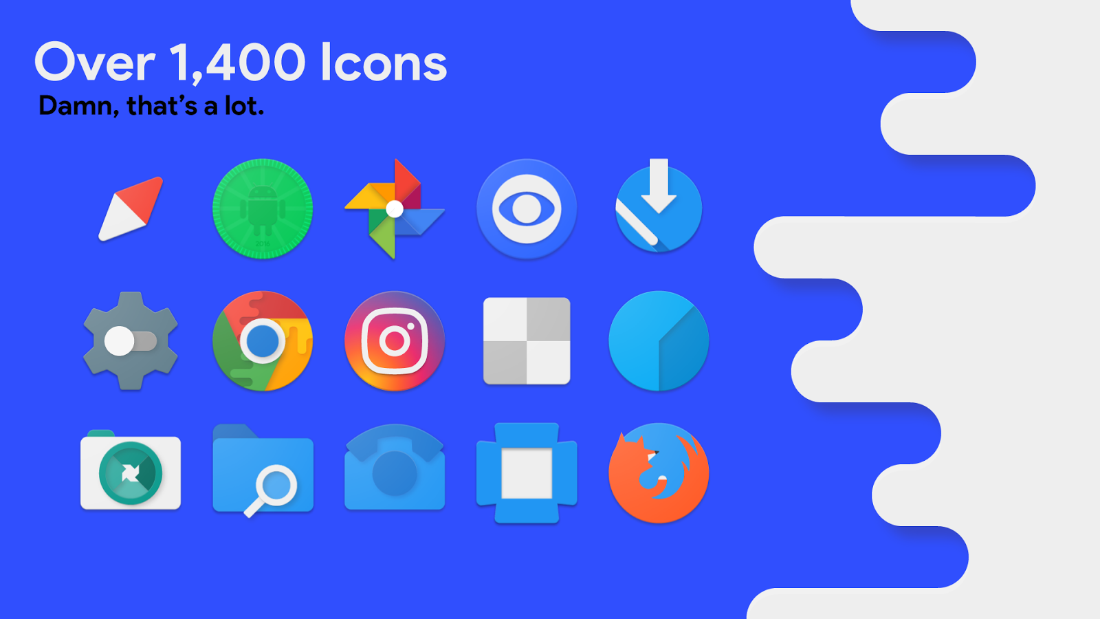 Splash - Icon Pack Screenshot 0