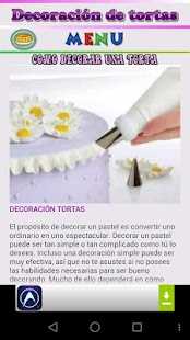 Decoración de tortas - screenshot