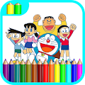 Game Learn Coloring For Doraemon APK for Windows Phone