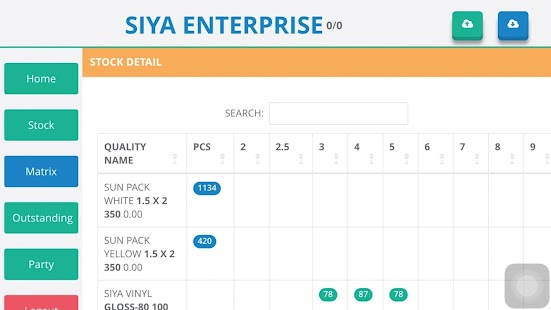 Siya ERP - screenshot