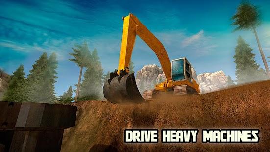 Bridge Builder - Crane Driver APK for Bluestacks