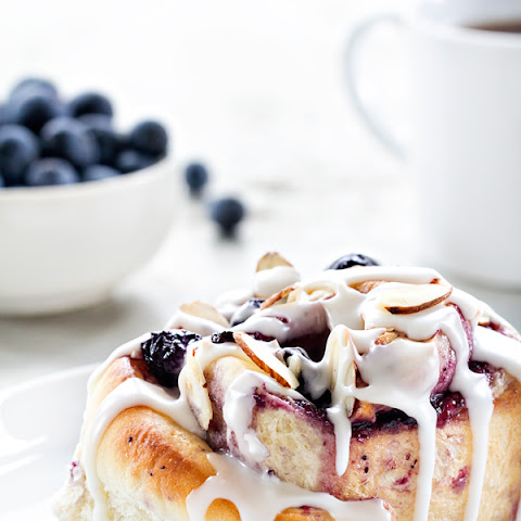 Blueberry Sweet Rolls