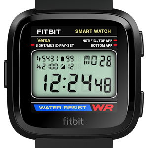 Classic Digital Faces - Watchface for Fitbit Versa For PC / Windows 7/8/10 / Mac – Free Download