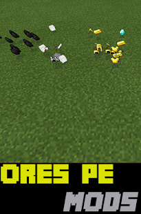 Ores PE Mods For MC - screenshot