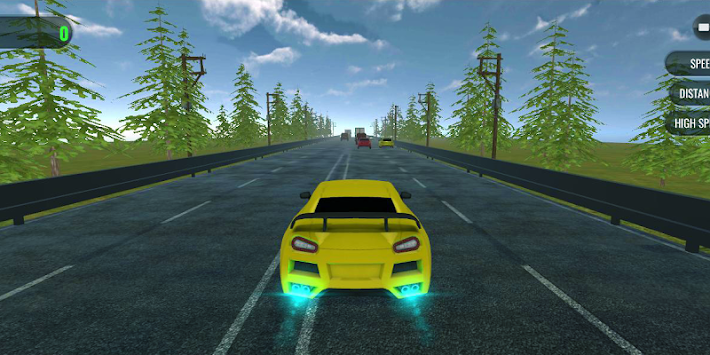 Highway Asphalt : Nitro Traffic Racing APK screenshot thumbnail 3