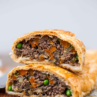 Beef Wellington ( the humble version)