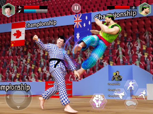 Karate King Fighter: Kung Fu 2018 Final Fighting screenshot 5