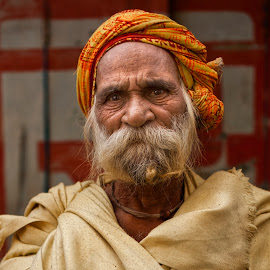 Holy Man by Steven Hu - People Portraits of Men ( holy, hinduism, man,  )
