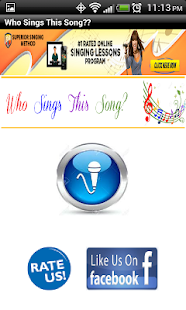 Who Sings This Song - screenshot