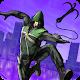 Green Rope Hero in City