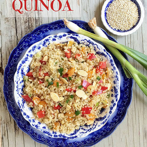 Quinoa with Almonds & Apricots