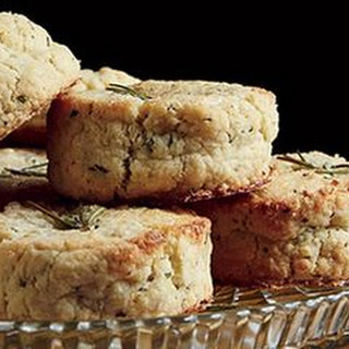 Sugared Lemon-Rosemary Scones