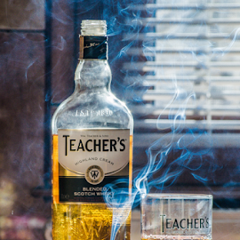 by Adrian Stefan - Food & Drink Alcohol & Drinks ( smoke photography, hot, sunrise )