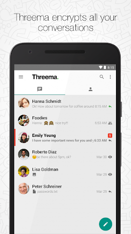 Threema 2.94 build 333 Patched Apk