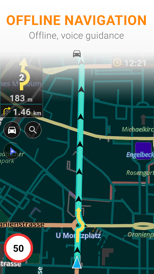 Maps & GPS Navigation OsmAnd+ Screenshot 1