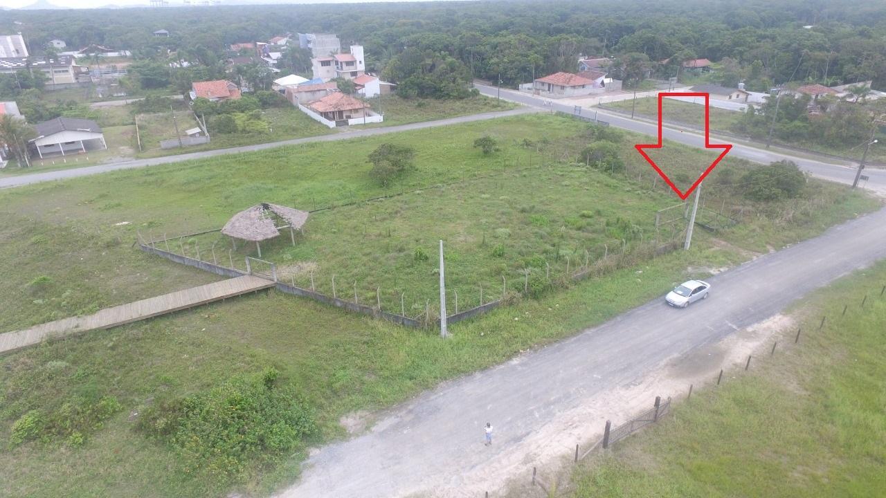 Terreno à venda na quadra do mar, 360 m² por R$ 250.000 - Itamar - Itapoá/SC