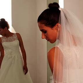 Pretty Bride by Cristobal Garciaferro Rubio - Wedding Bride ( young bride, lady, bride, young lady )
