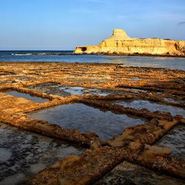 Natural Salt Pans, Gozo by Francis Xavier Camilleri - City,  Street & Park  Vistas