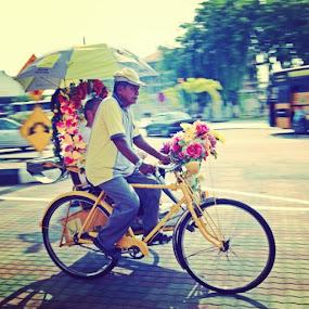 Abg beca abg beca di tengah jalan.. by Soul Latif - Instagram & Mobile Instagram